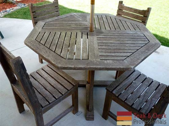 Teak Refinishing Before and After Images. Teak Refinishing   Maintenance Service   Teak   Deck Pros