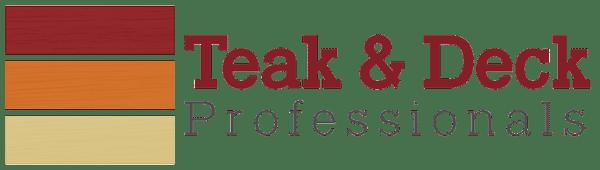 Teak and Deck Professional Logo
